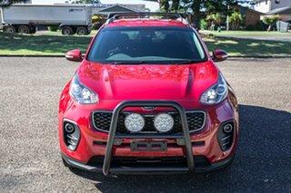 2018 Kia Sportage QL MY19 AO Edition 2WD Red 6 Speed Sports Automatic Wagon.