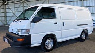 2006 Mitsubishi Express SJ M07 MWB White 5 Speed Manual Van.