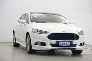 2016 Ford Mondeo MD Titanium White 6 Speed Sports Automatic Dual Clutch Hatchback