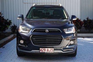 2016 Holden Captiva CG MY17 LTZ AWD Blue 6 Speed Sports Automatic Wagon.