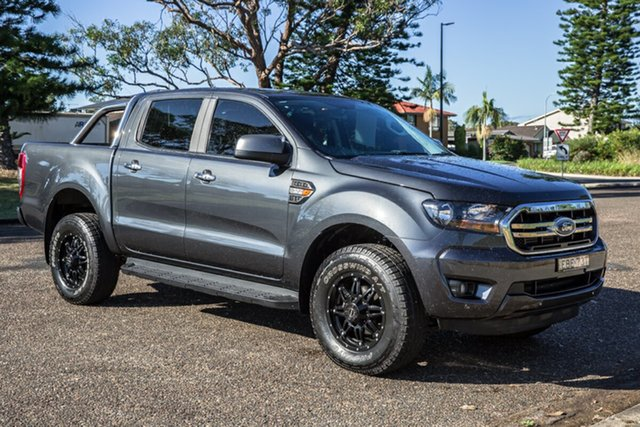 Used Ford Ranger PX MkIII 2019.00MY XLS Port Macquarie, 2018 Ford Ranger PX MkIII 2019.00MY XLS Meteor Grey 6 Speed Sports Automatic Utility