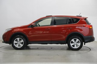 2013 Toyota RAV4 ZSA42R GXL 2WD Red 7 Speed Constant Variable Wagon.