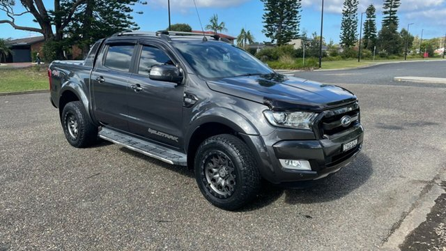 Used Ford Ranger PX MkII 2018.00MY Wildtrak Double Cab Port Macquarie, 2018 Ford Ranger PX MkII 2018.00MY Wildtrak Double Cab Magnetic 6 Speed Sports Automatic Utility