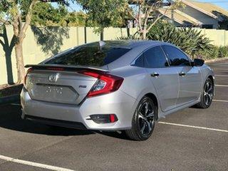 2016 Honda Civic 10th Gen MY16 RS Grey 1 Speed Constant Variable Sedan.