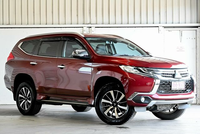 Used Mitsubishi Pajero Sport QE MY16 Exceed Laverton North, 2016 Mitsubishi Pajero Sport QE MY16 Exceed Red 8 Speed Sports Automatic Wagon