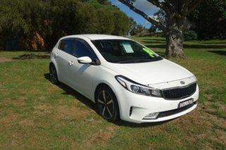 2018 Kia Cerato YD MY18 Sport White 6 Speed Sports Automatic Hatchback.
