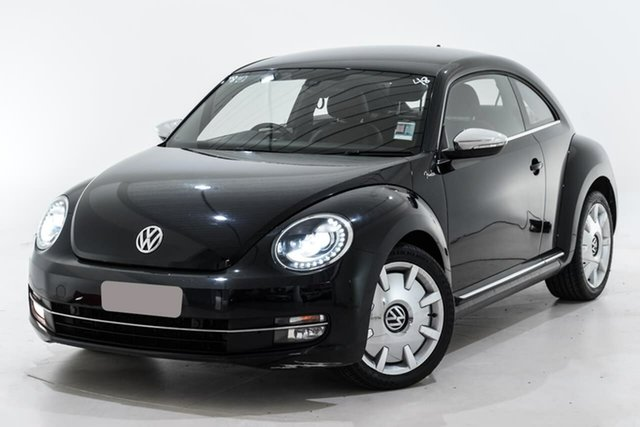 Used Volkswagen Beetle 1L MY13 Fender Edition Coupe DSG Berwick, 2013 Volkswagen Beetle 1L MY13 Fender Edition Coupe DSG Black 7 Speed Sports Automatic Dual Clutch
