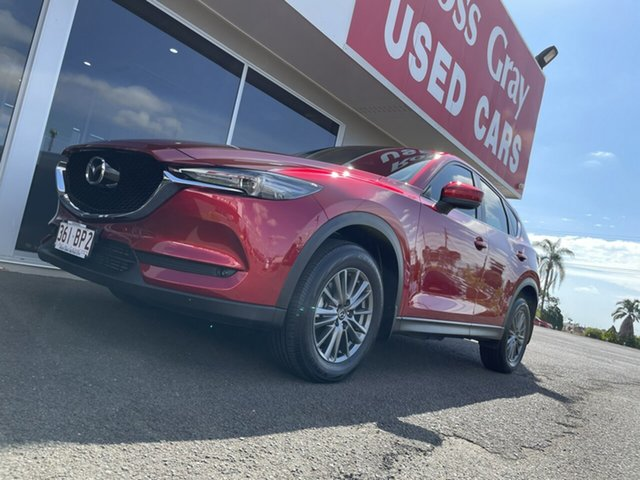 Used Mazda CX-5 KF4W2A GT SKYACTIV-Drive i-ACTIV AWD Bundaberg, 2018 Mazda CX-5 KF4W2A GT SKYACTIV-Drive i-ACTIV AWD Red 6 Speed Sports Automatic Wagon