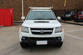 2008 Holden Colorado RC LX (4x4) White 5 Speed Manual Cab Chassis.