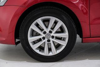 2015 Volkswagen Polo 6R MY15 81TSI DSG Comfortline Red 7 Speed Sports Automatic Dual Clutch