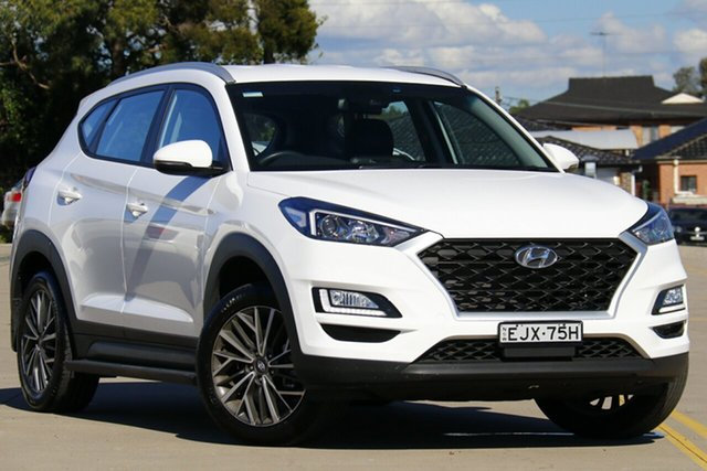 Used Hyundai Tucson TL4 MY20 Active 2WD Chullora, 2020 Hyundai Tucson TL4 MY20 Active 2WD White 6 Speed Automatic Wagon
