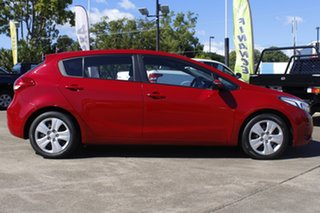 2017 Kia Cerato YD MY18 S Red 6 Speed Sports Automatic Hatchback.