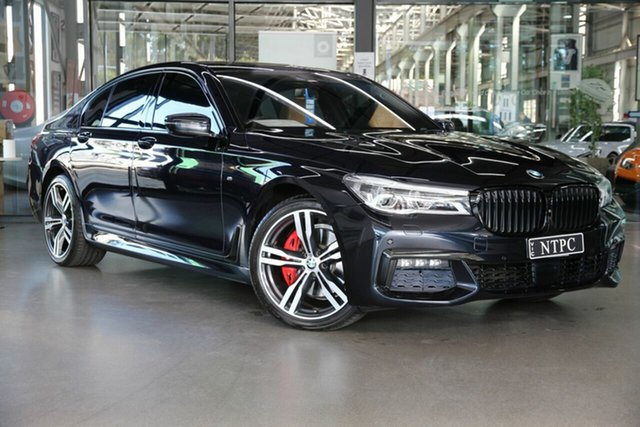 Used BMW 7 Series G11 740i Steptronic North Melbourne, 2016 BMW 7 Series G11 740i Steptronic Black 8 Speed Sports Automatic Sedan