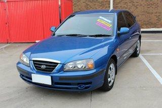 2006 Hyundai Elantra XD MY05 FX 2.0 HVT Blue 4 Speed Automatic Hatchback.
