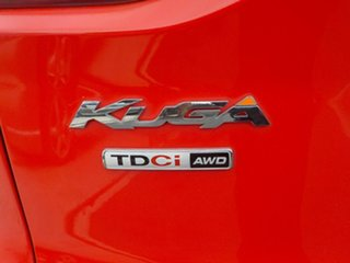 2013 Ford Kuga TE Titanium Red 5 Speed Automatic Wagon