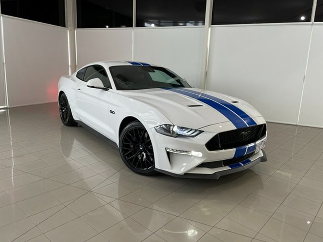 Used Ford Mustang FN 2018MY GT Fastback SelectShift Deer Park, 2018 Ford Mustang FN 2018MY GT Fastback SelectShift White 10 Speed Sports Automatic Fastback
