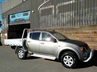 2006 Mitsubishi Triton ML MY07 GLX-R Double Cab Grey 5 Speed Manual Utility.