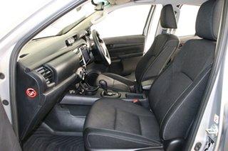 2017 Toyota Hilux GUN126R MY17 SR (4x4) Grey 6 Speed Automatic Dual Cab Utility