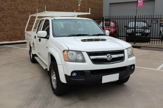 Used Holden Colorado RC LX (4x4) Hoppers Crossing, 2008 Holden Colorado RC LX (4x4) White 5 Speed Manual Cab Chassis