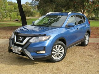 2017 Nissan X-Trail T32 Series II ST-L X-tronic 2WD Blue 7 Speed Constant Variable Wagon.