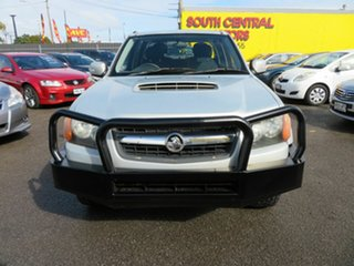 2011 Holden Colorado RC MY11 LX (4x4) Silver 5 Speed Manual Crew Cab Pickup.