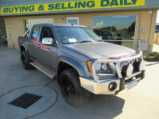 2008 Holden Colorado RC LT-R (4x4) Silver 5 Speed Manual Utility