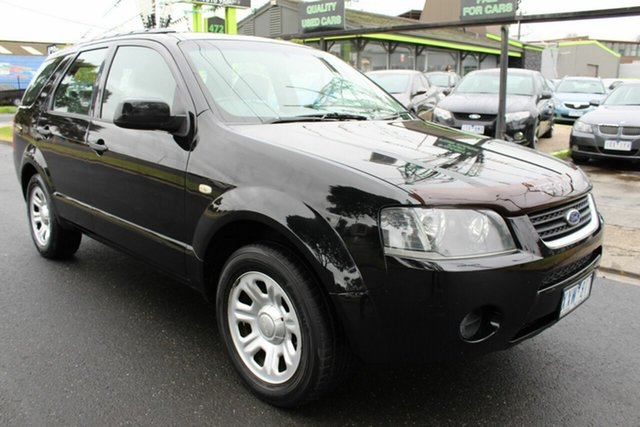 Used Ford Territory SY SR AWD West Footscray, 2008 Ford Territory SY SR AWD Black 6 Speed Sports Automatic Wagon
