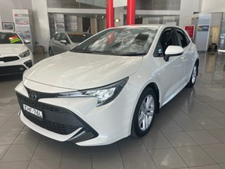 2019 Toyota Corolla Mzea12R Ascent Sport White 10 Speed Constant Variable Hatchback.