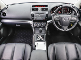 2012 Mazda 6 GH MY11 Touring Red 5 Speed Auto Activematic Hatchback