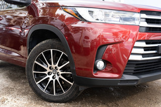 2017 Toyota Kluger GSU55R Grande AWD Salsa Red 8 Speed Sports Automatic Wagon.