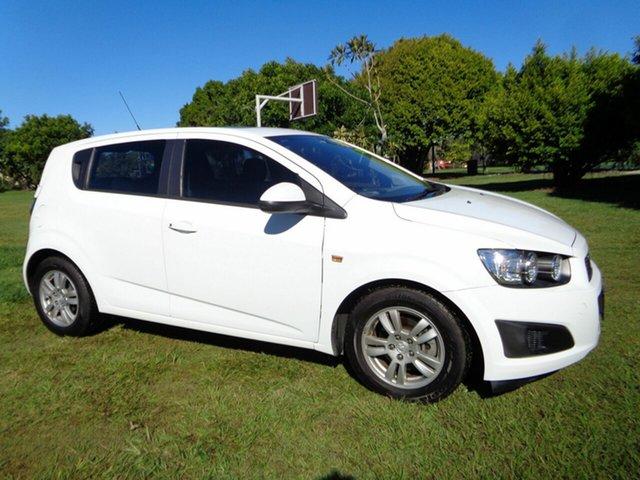 Used Holden Barina TM MY13 CD Kippa-Ring, 2012 Holden Barina TM MY13 CD White 5 Speed Manual Hatchback