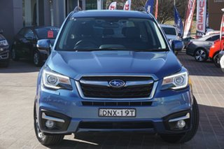 2017 Subaru Forester S4 MY17 2.5i-S CVT AWD Blue 6 Speed Constant Variable Wagon.