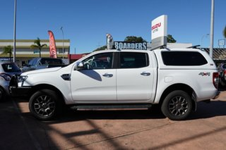 2017 Ford Ranger PX MkII MY17 Update XLT 3.2 (4x4) White 6 Speed Automatic Double Cab Pick Up