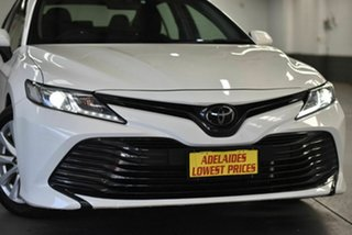 2018 Toyota Camry ASV70R Ascent White 6 Speed Sports Automatic Sedan