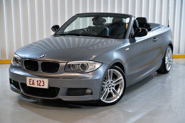 Used BMW 1 Series E88 LCI MY1112 118d Steptronic Hendra, 2013 BMW 1 Series E88 LCI MY1112 118d Steptronic Grey 6 Speed Sports Automatic Convertible