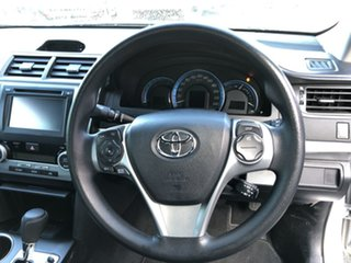 2014 Toyota Camry AVV50R Hybrid H Silver Pearl 1 Speed Constant Variable Sedan Hybrid