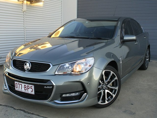 Used Holden Commodore VF II MY16 SS V Caboolture, 2015 Holden Commodore VF II MY16 SS V Grey 6 Speed Sports Automatic Sedan