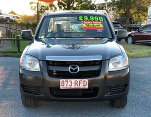 2007 Mazda BT-50 UNY0W3 DX Grey 5 Speed Manual Cab Chassis.