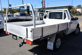 2012 Mitsubishi Triton MN MY13 GLX 4x2 White 4 Speed Sports Automatic Cab Chassis.