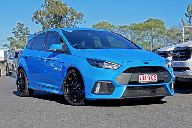 Used Ford Focus LZ RS AWD Ebbw Vale, 2017 Ford Focus LZ RS AWD 6 Speed Manual Hatchback
