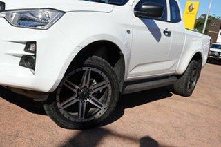 2020 Isuzu D-MAX RG MY21 SX (4x2) White 6 Speed Auto Seq Sportshift Space Cab Utility.