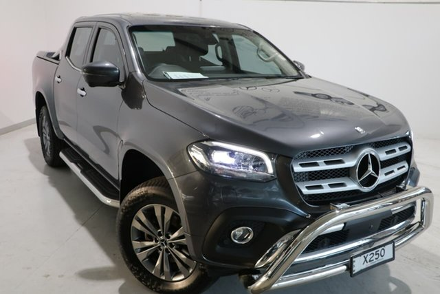Used Mercedes-Benz X-Class 470 X250d 4MATIC Power Wagga Wagga, 2018 Mercedes-Benz X-Class 470 X250d 4MATIC Power Grey 7 Speed Sports Automatic Utility
