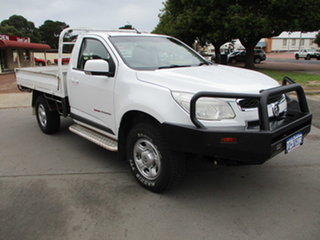 2016 Holden Colorado RG MY16 LS 4x4 White 6 Speed Automatic Single Cab.