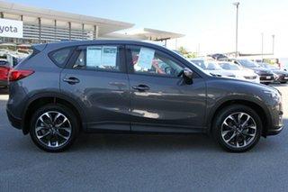2016 Mazda CX-5 KE1032 Akera SKYACTIV-Drive AWD Grey 6 Speed Sports Automatic Wagon.