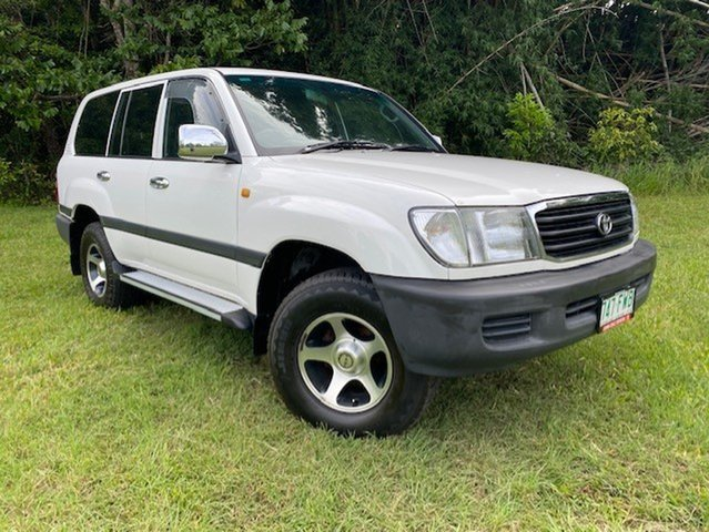 Pre-Owned Toyota Landcruiser Atherton, 2002 GXL Automatic