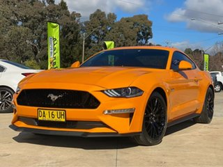 2018 Ford Mustang GT Orange Fury Sports Automatic Fastback.