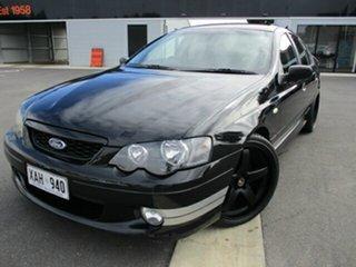 2003 Ford Falcon BA XR8 Black 4 Speed Sports Automatic Sedan.