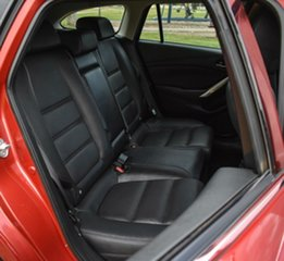 2015 Mazda 6 GJ1032 Touring SKYACTIV-Drive Red 6 Speed Sports Automatic Wagon
