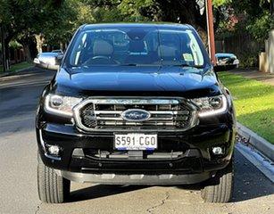 2020 Ford Ranger PX MkIII 2020.75MY XLT Shadow Black/penta F 10 Speed Sports Automatic.
