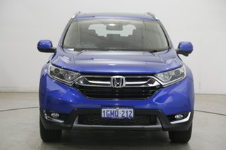 2018 Honda CR-V RW MY18 VTi-L FWD Blue 1 Speed Constant Variable Wagon.